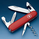Pocket Knife Sportsman, red, 84mm
