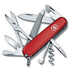 Pocket Knife Mountaineer, red, 91mm