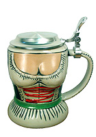 Dirndl Stein 1/2L 6.7 inches