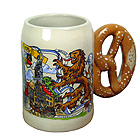Pretzel Stein Munich 1/2L 5.1 inches