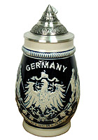 Beerstein relief Germany, kobalt 6.7 inches