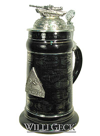 US Armored Forces Stein with Sherman Tank, 9.1 inches