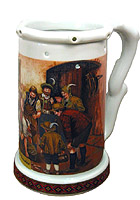 Beerstein Trick Mug Trial of Strength 7.3 inch