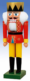 KWO Nutcracker King 9.8 inches