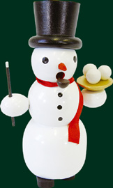 RG Smoker Snowman, 5.1 inches