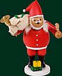 RG Smoker Santa Claus large, 11 inches