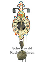 Wooden Clock / One-Handed Clock: 1640 Replica Model, color, 14.2 inch