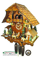 8-Day Cuckoo Clock Chalet Music: The Grandparents, 17.3inch